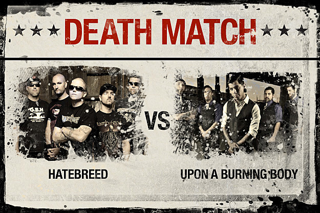 Hatebreed vs. Upon A Buring Body
