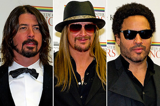 Dave Grohl / Kid Rock / Lenny Kravitz