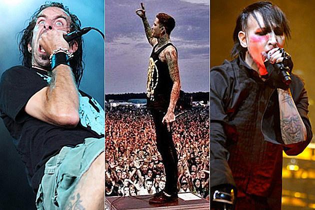 Randy Blythe / Mitch Lucker / Marilyn Manson