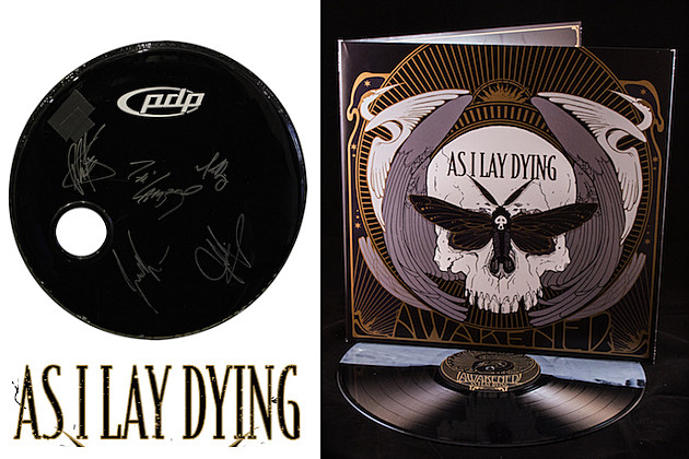 As I Lay Dying Prize Pack