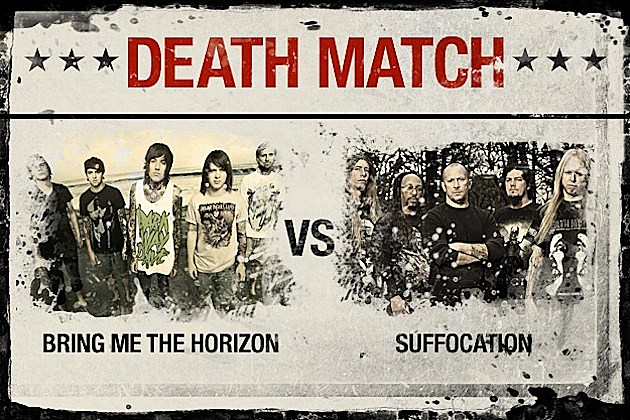 Bring Me the Horizon / Suffocation