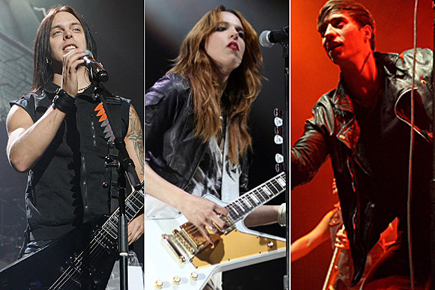 Bullet for My Valentine-Halestorm-Young Guns