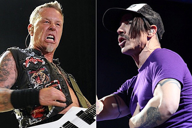 James Hetfield / Anthony Kiedis