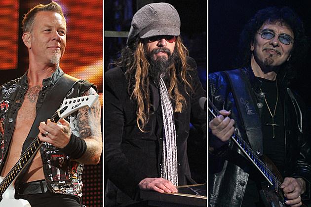 Metallica-Rob Zombie-Tony Iommi