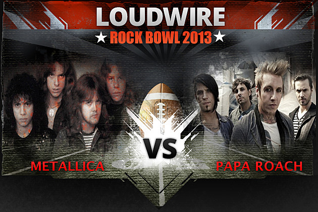 Metallica vs Papa Roach LRB