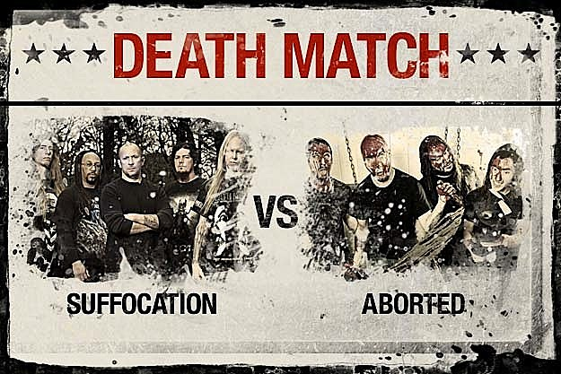 Suffocation vs. Aborted