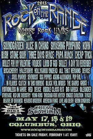 2013 Rock on the Range Festival