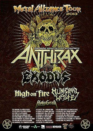 2013 Metal Alliance Tour