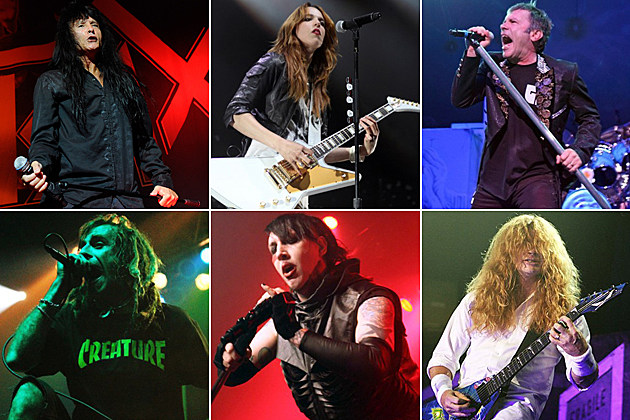 2013 Best Hard Rock Metal Performance Grammy Nominees