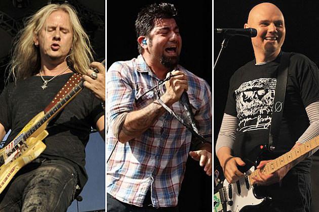 Alice in Chains-Deftones-Smashing Pumpkins