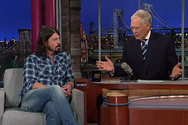 Dave Grohl-David Letterman