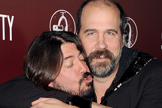 Dave Grohl-Krist Novoselic