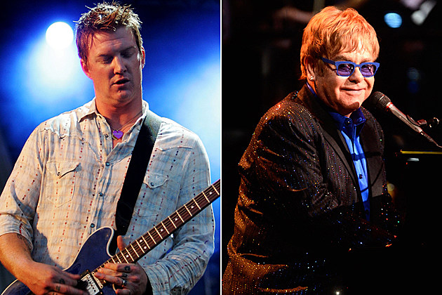 Josh Homme-Elton John