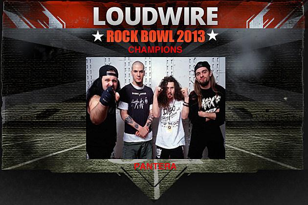 Loudwire Rock Bowl Champions - Pantera
