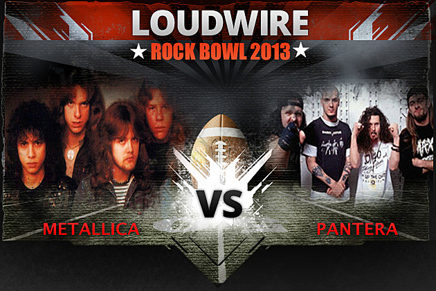 Metallica vs Pantera