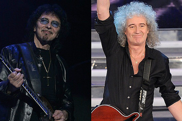 Tony Iommi / Brian May