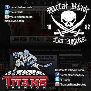 Metal Blade Trenton Titans