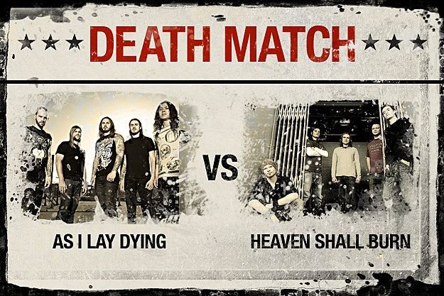 As I Lay Dying vs. Heaven Shall Burn