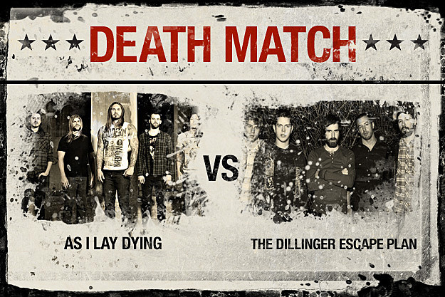 As I Lay Dying vs. The Dillinger Escape Plan