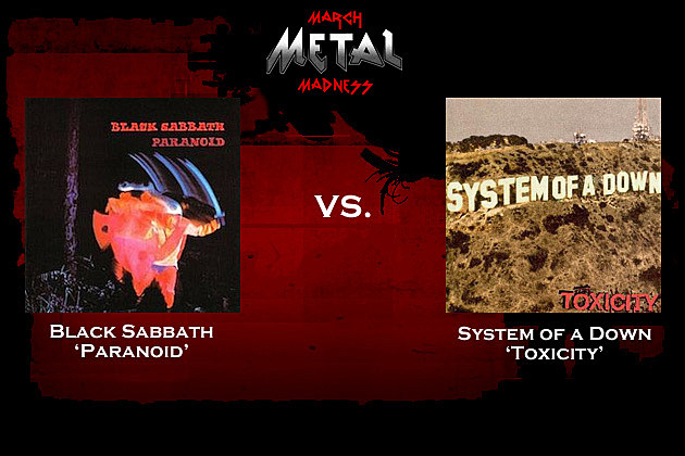 Black Sabbath vs. System of a Down