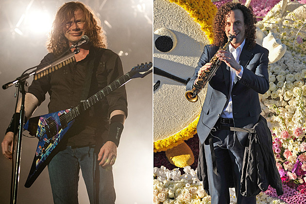 Dave Mustaine-Kenny G
