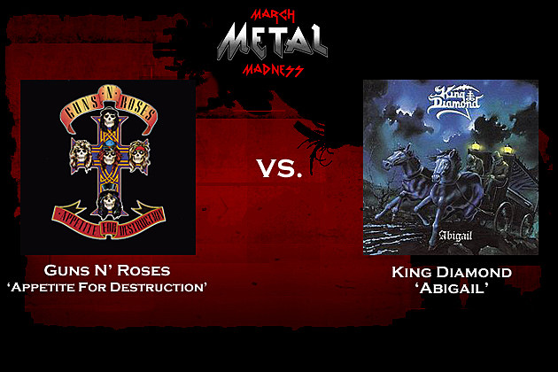 Guns N Roses vs. King Diamond
