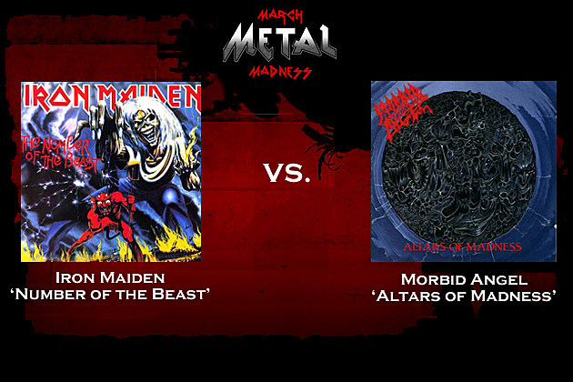 Iron Maiden vs. Morbid Angel