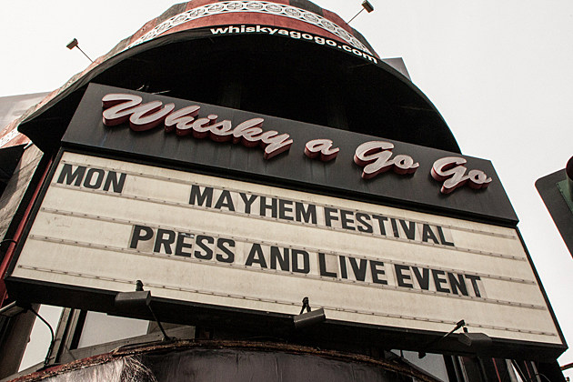 Mayhem Festival-Whisky-a-Go-Go