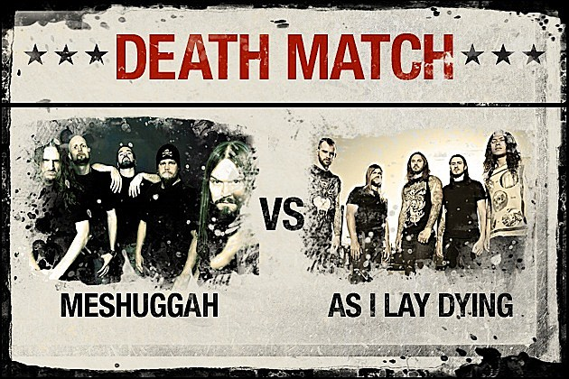 Meshuggah vs. As I Lay Dying