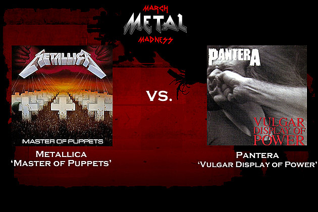 Metallica vs. Pantera