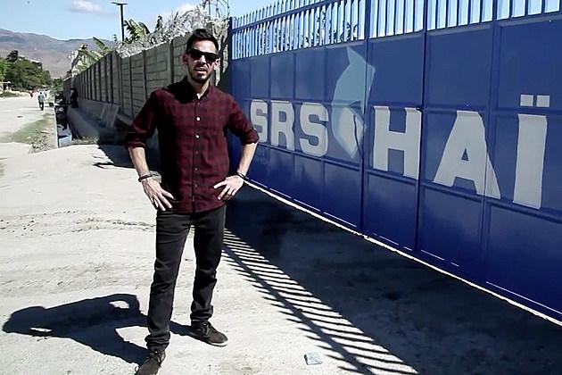 Mike Shinoda in Haiti