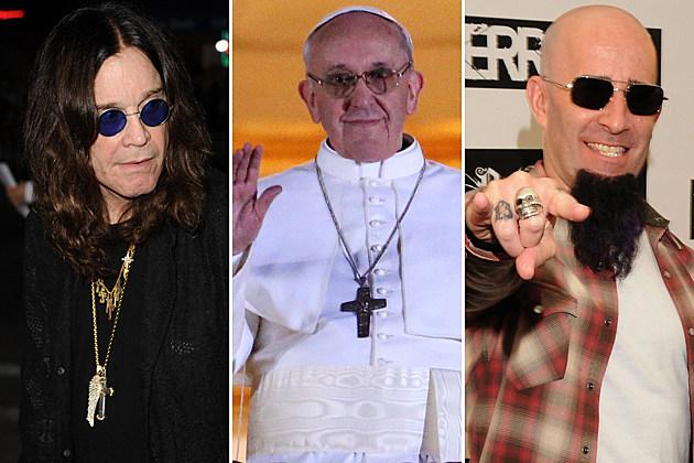 Ozzy Osbourne-Pope Francis 1-Scott Ian