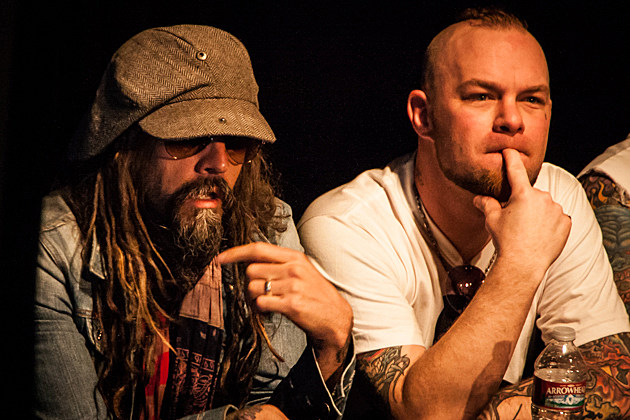Rob Zombie-Ivan Moody-Mayhem Press Conference
