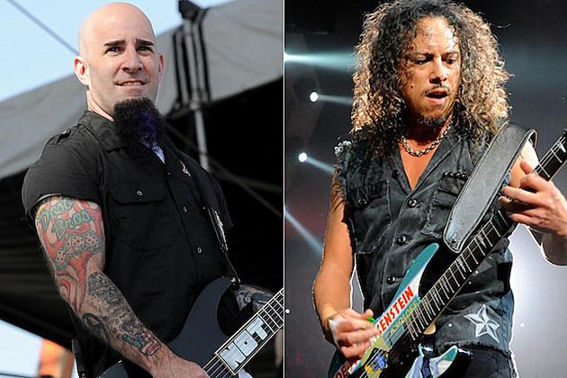 Scott Ian / Kirk Hammett