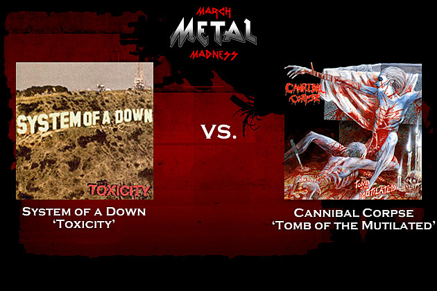System of a Down vs. Cannibal Corpse