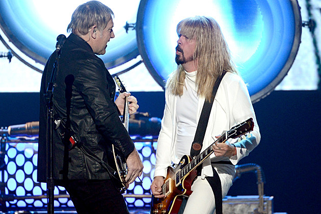 Alex Lifeson-Dave Grohl