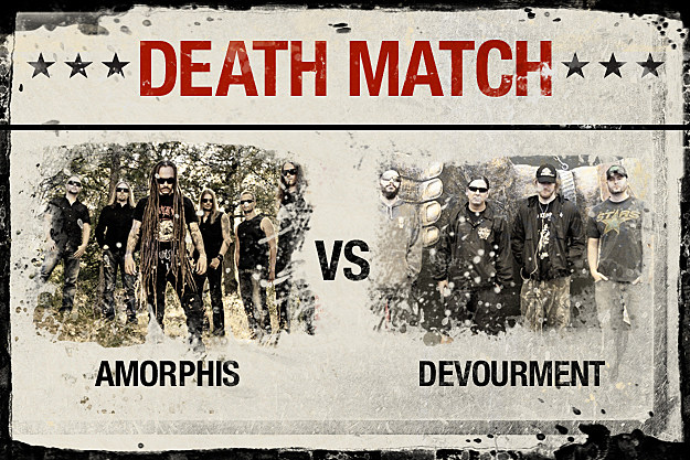 Amorphis vs. Devourment