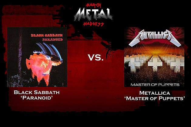 Black Sabbath vs. Metallica
