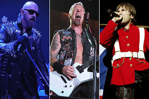 Rob Halford / James-Hetfield / Bruce Dickinson
