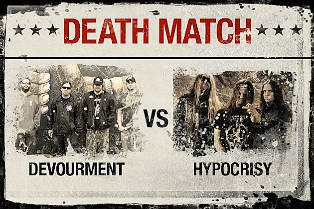 Devourment vs. Hypocrisy