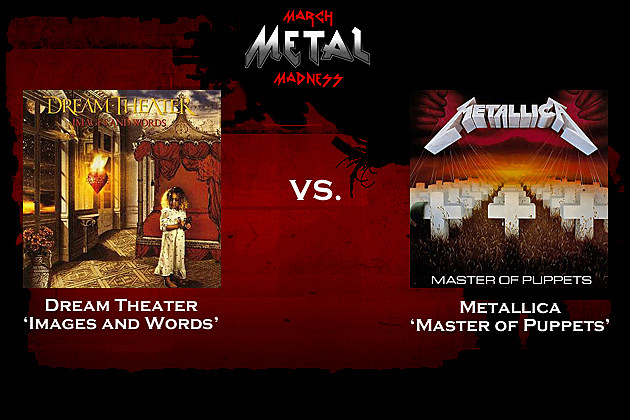 Dream Theater vs. Metallica