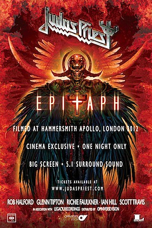 Judas Priest, 'Epitaph' Screenings