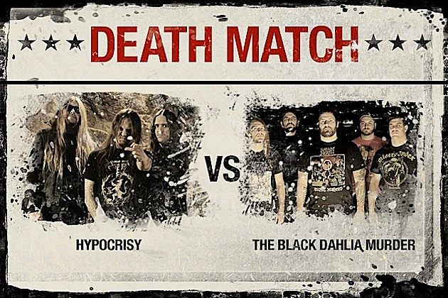 Hypocrisy vs. The Black Dahlia Murder
