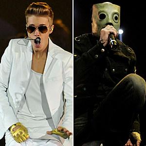 Justin Bieber-Slipknot