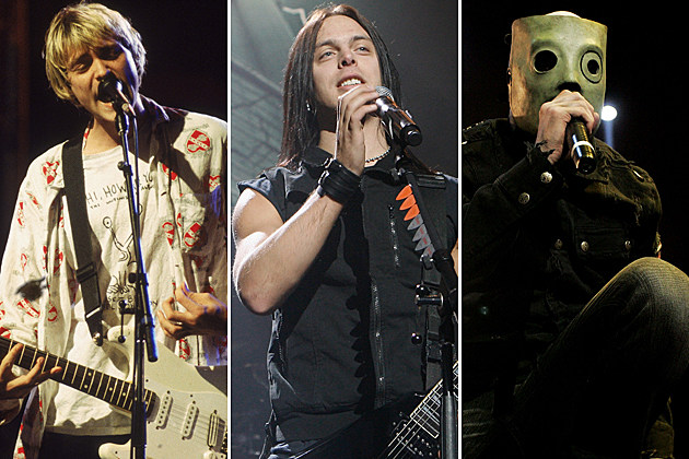 Nirvana-Bullet for My Valentine-Slipknot