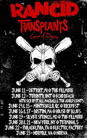 Rancid Transplants Poster