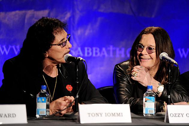 Tony Iommi-Ozzy Osbourne