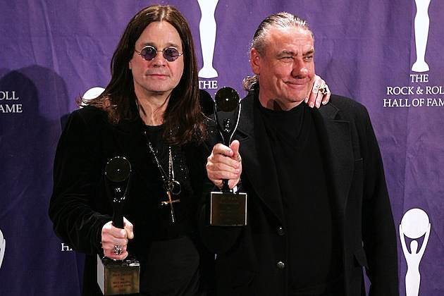 Ozzy Osbourne and Bill Ward