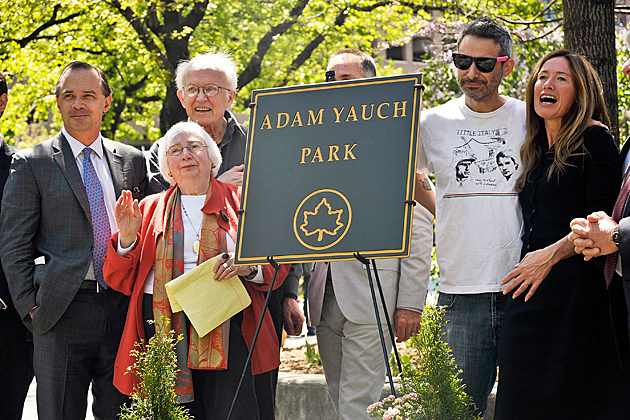 Adam Yauch Park Dedication