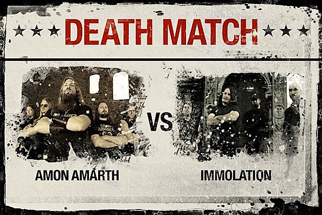 Amon Amarth vs. Immolation